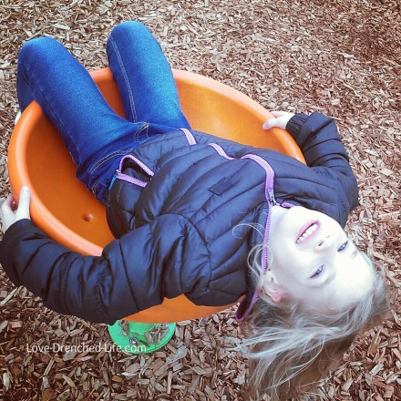 Anna spinning