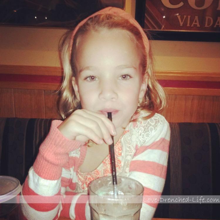 milkshake with Anna