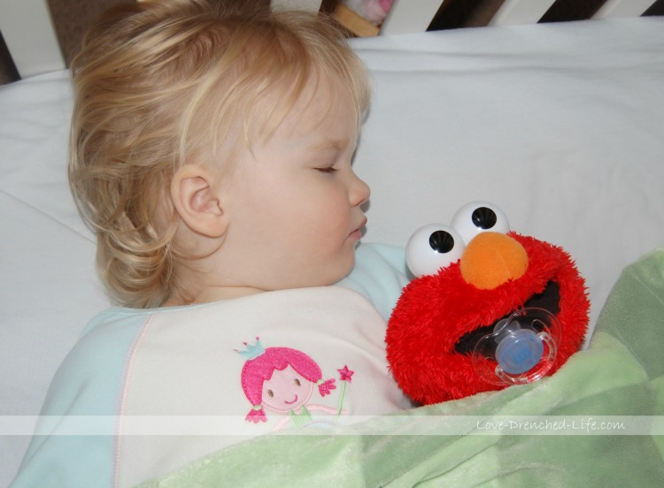 anna elmo sleeping