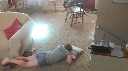 abs on floor