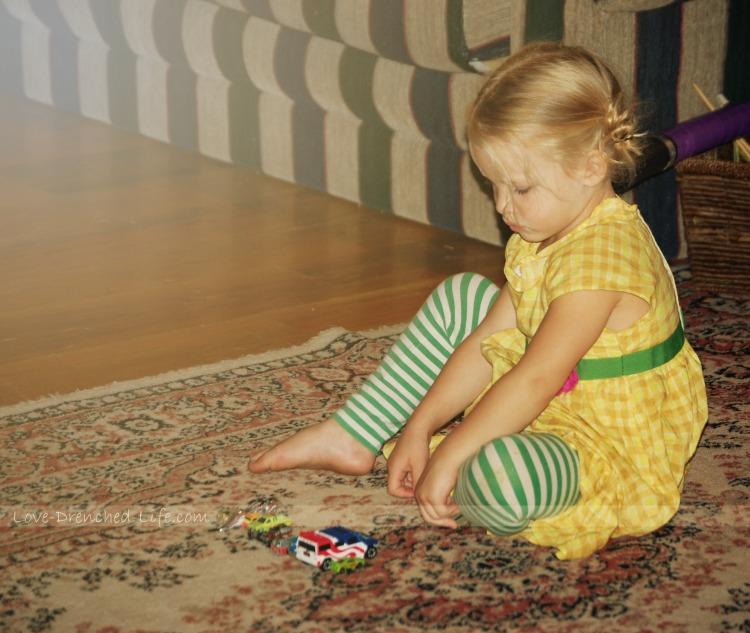 Anna playing