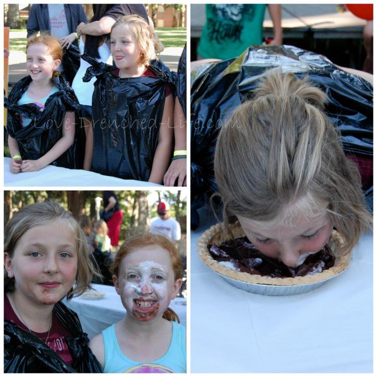 pie eating