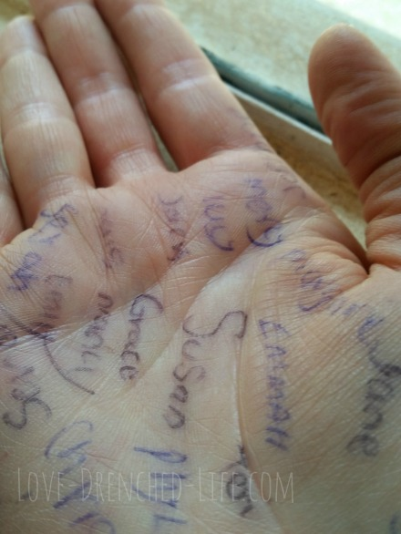 hand names
