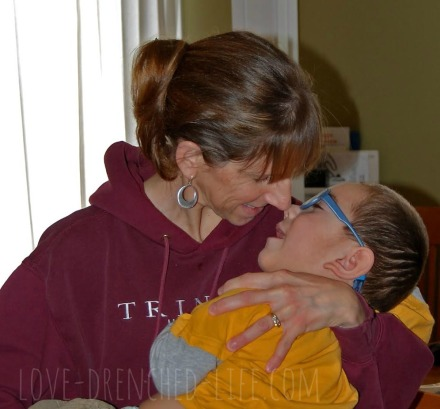 Harry's mom