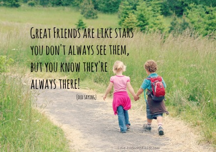 Great friends are like