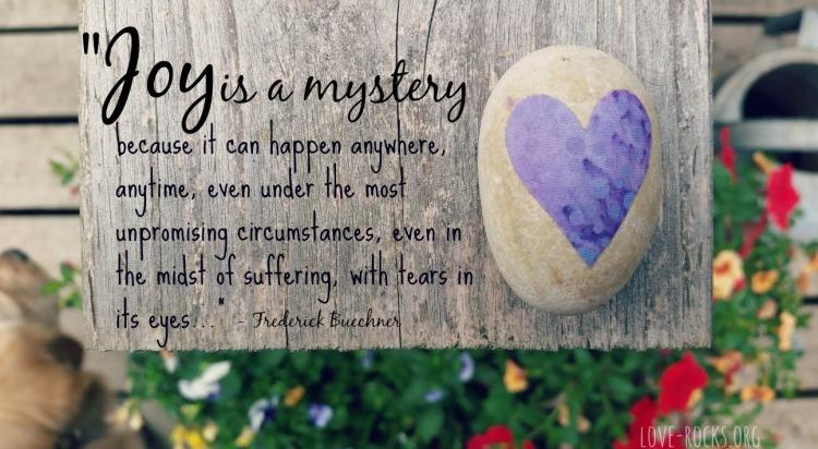 joy is a mystery
