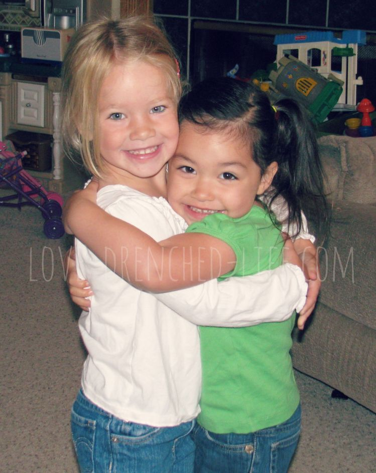 One of my favorite pictures of Anna and Makenna...so much love <3