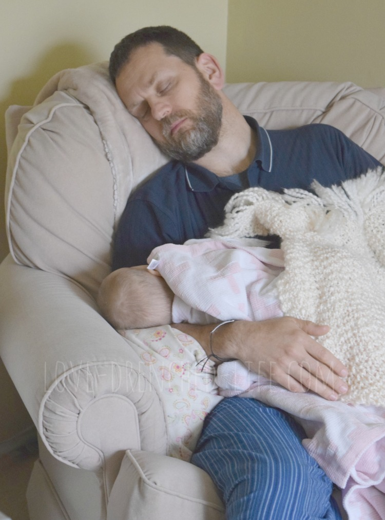 Tom and Alice sleeping